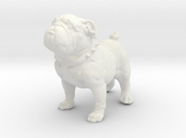 Lobo's Dawg for Build a figure Lobo (Bull Dog) in White Natural Versatile Plastic