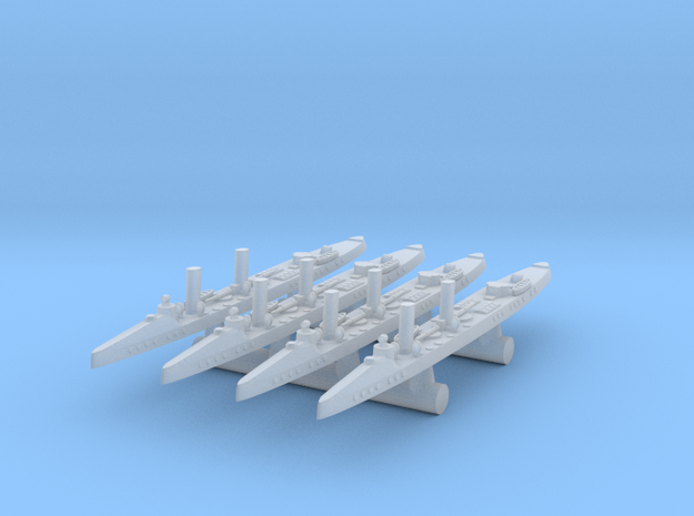 "1/1250 ""Taku"" Torpedo Boat Destroyers x4"