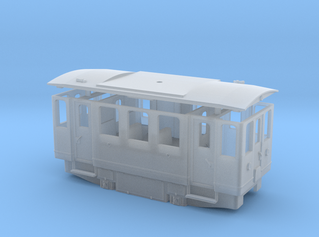 AE1 H0e / 009 electric railcar in Smooth Fine Detail Plastic