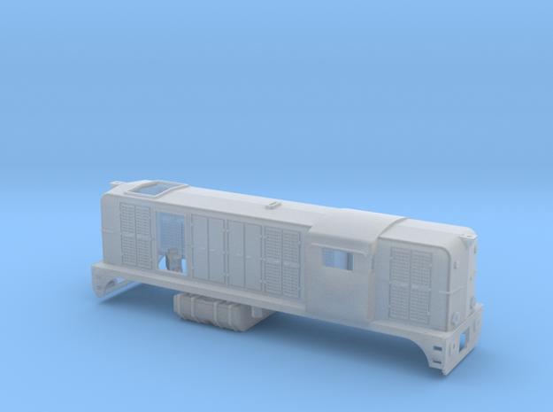 Z 1:220 SNCF BB 62400 Beta version 2 in Smooth Fine Detail Plastic