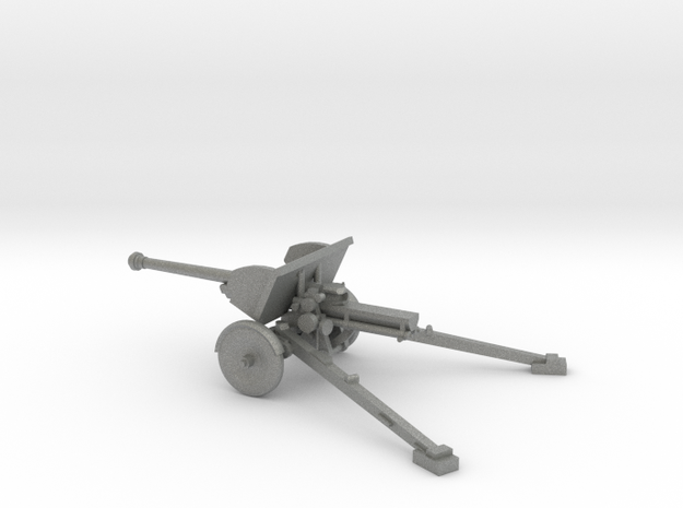 1/100 IJA Type 90 75mm Field Gun in Gray PA12