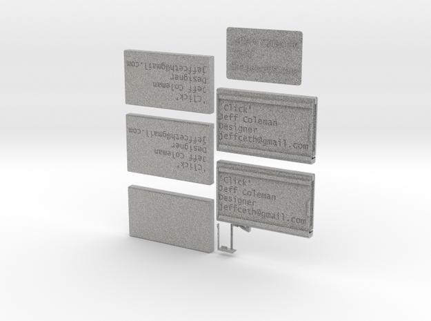 'Click' 3d printed