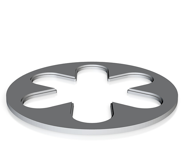 star clip internal (2) 3d printed