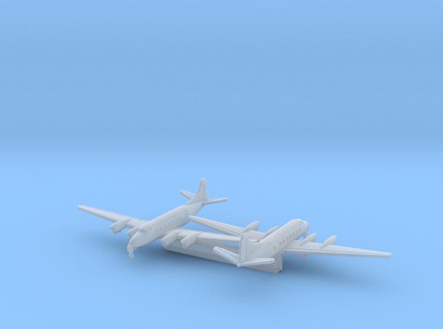 de Haviland Heron DH.114 w/Gear x2 (CW) in Smooth Fine Detail Plastic: 1:700
