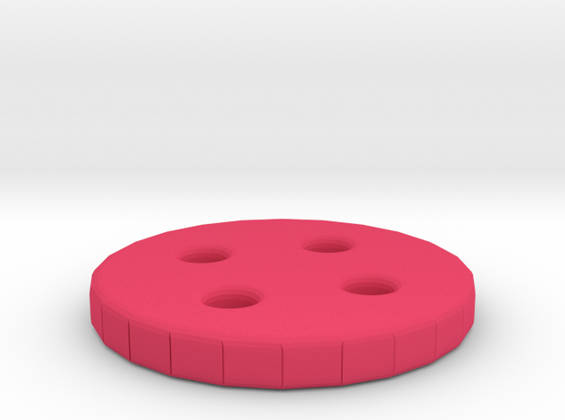 Button 14 3d printed