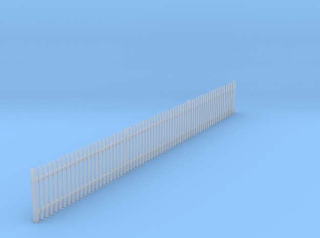 VR Picket Fence #2 1:87 Scale in Smooth Fine Detail Plastic