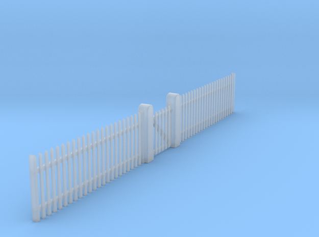 VR Picket Fence Set 1:87 Scale in Smooth Fine Detail Plastic