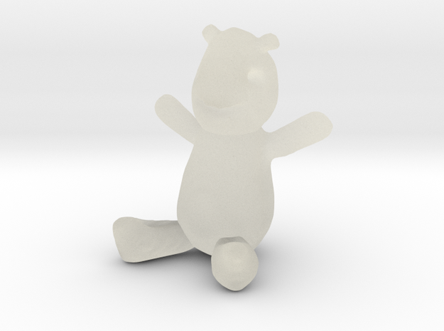 Sketched Teddy 3d printed