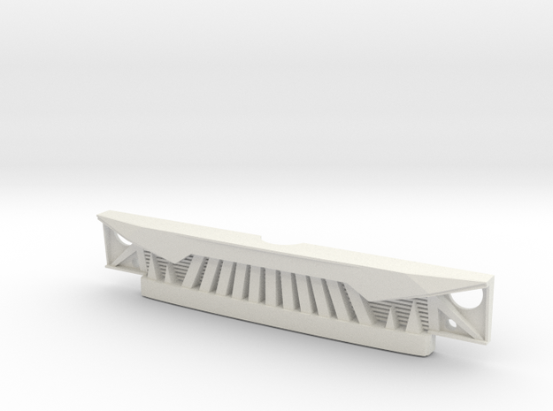 Angry Grill for RC4WD Chevy Blazer in White Natural Versatile Plastic