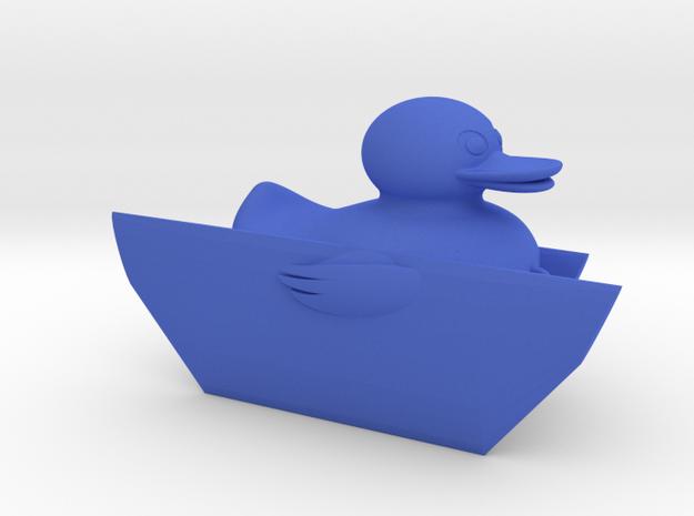 Duck Fishing Board XL in Blue Processed Versatile Plastic