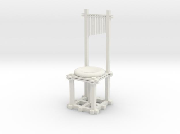 Uncomfy Chair (solid) 3d printed