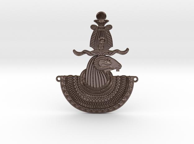 Ram Divinity Aegis in Polished Bronze Steel
