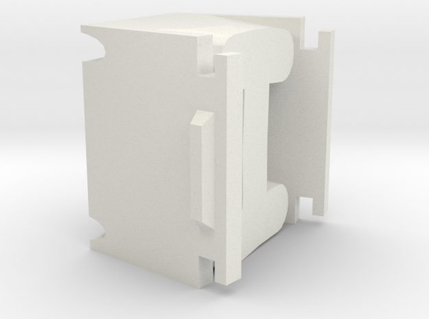 Letter I for candle mold 3d printed
