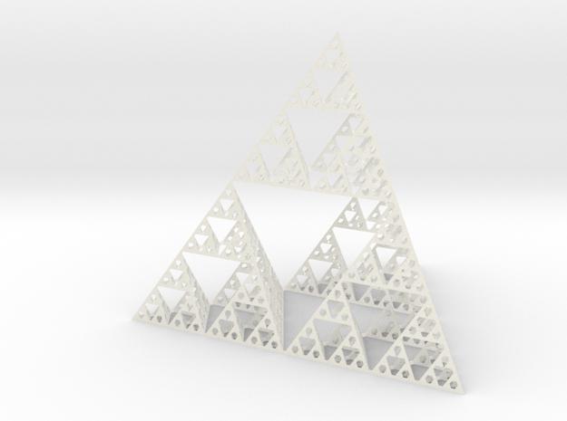 Sierpinski Pyramid 8cm tall 3d printed