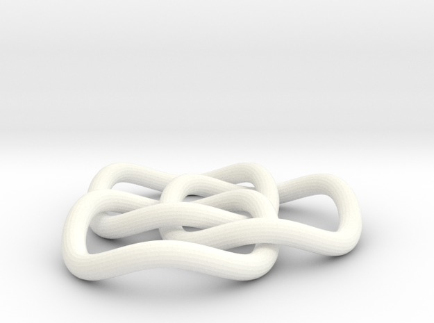 Brunnian Circles 3d printed