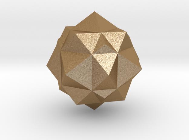 cuboct&dual 3d printed