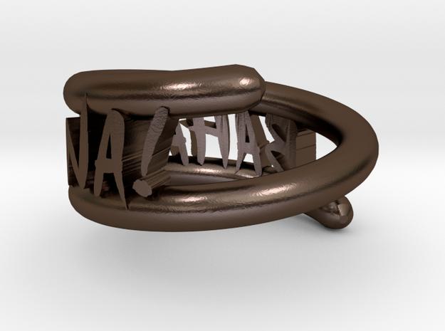 bahal na! ring 3d printed