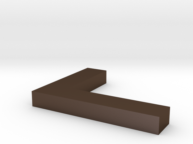 l shaped block this time hopefully in metal 3d printed
