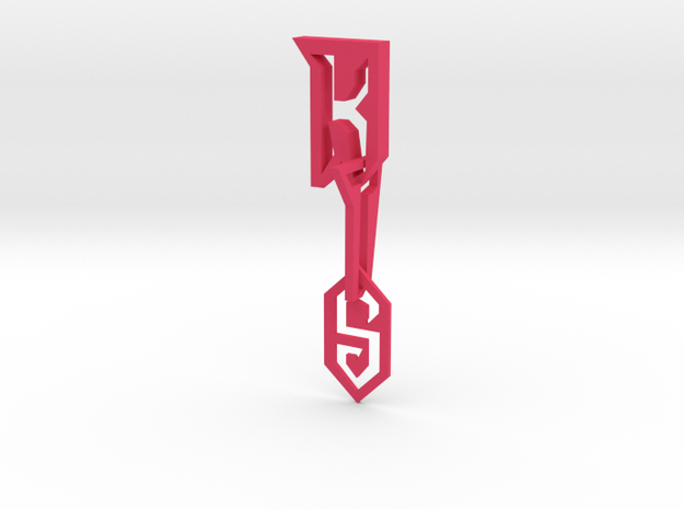 Kain the supreme ( logo Letters ) 3d printed