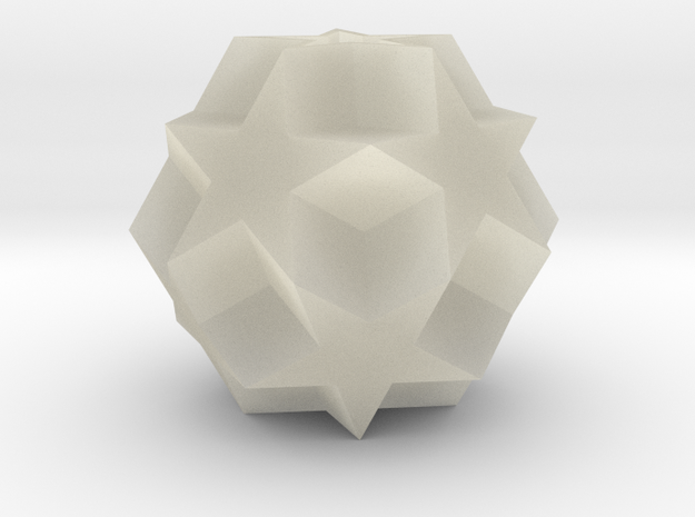 Dodecadodecahedron 3d printed
