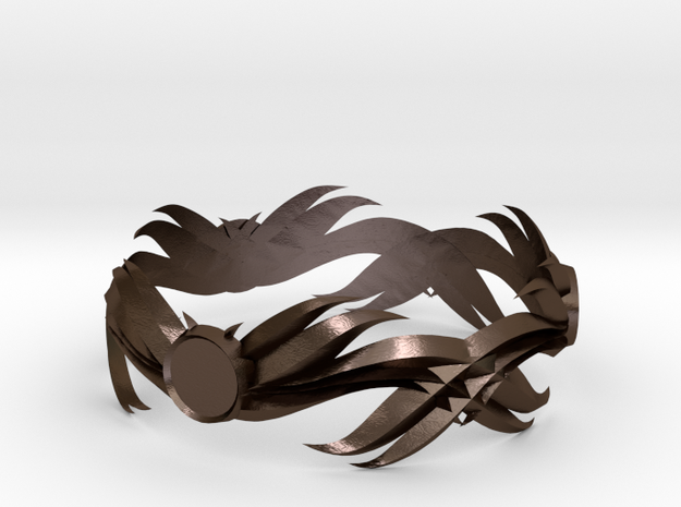 Feathered Bracelet -v1 3d printed