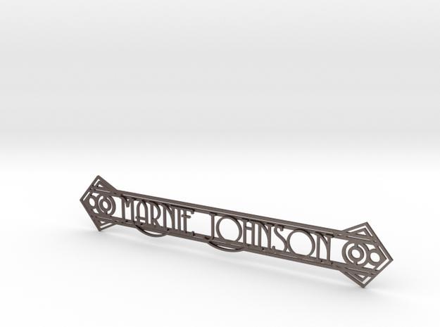 Doorplate 3d printed