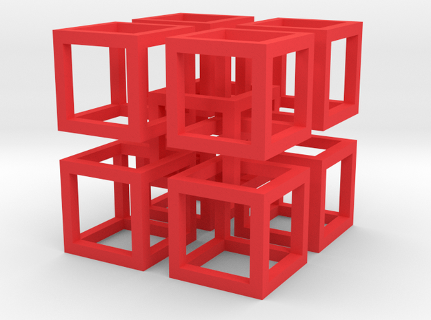 interlocked cubes 2 3d printed