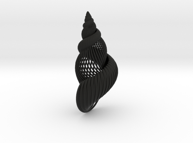 Fractal Conch -S1 3d printed