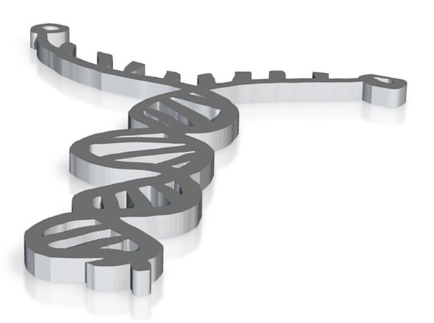DNA replication 3d printed