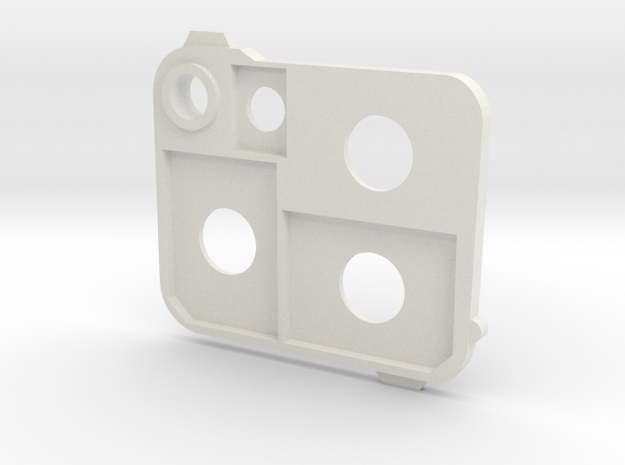 Flash holder SD in White Natural Versatile Plastic