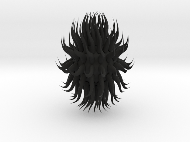 SpikyTest 3d printed