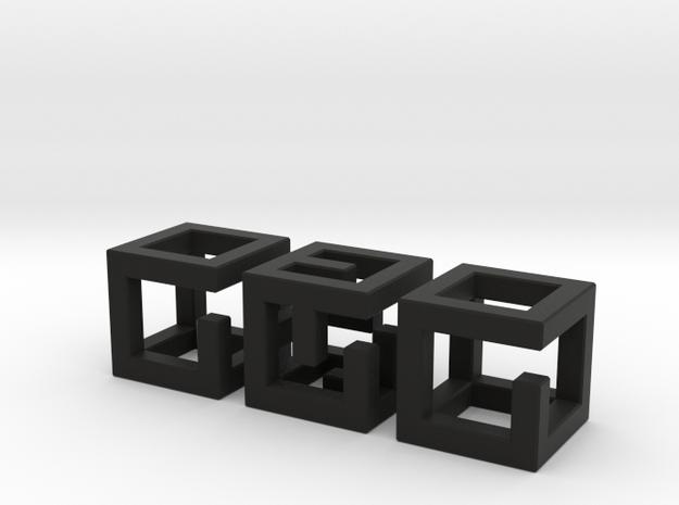 Little MazeNCubes 3d printed
