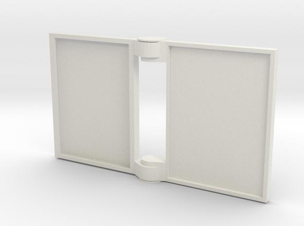 FULL_bookHinge.dae in White Natural Versatile Plastic