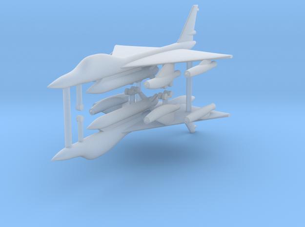 1/700 B-58 Hustler (x2) in Smooth Fine Detail Plastic