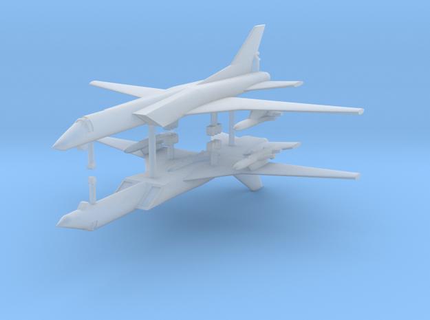 1/700 Tupolev TU-22M Backfire (x2) in Smooth Fine Detail Plastic