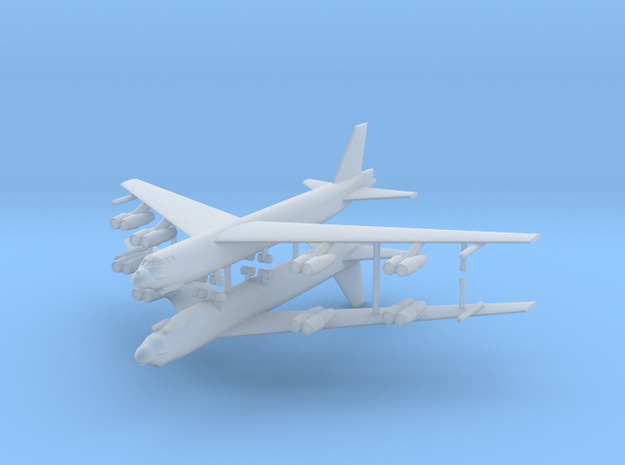 1/700 B-52G Stratofortress (x2) in Smooth Fine Detail Plastic