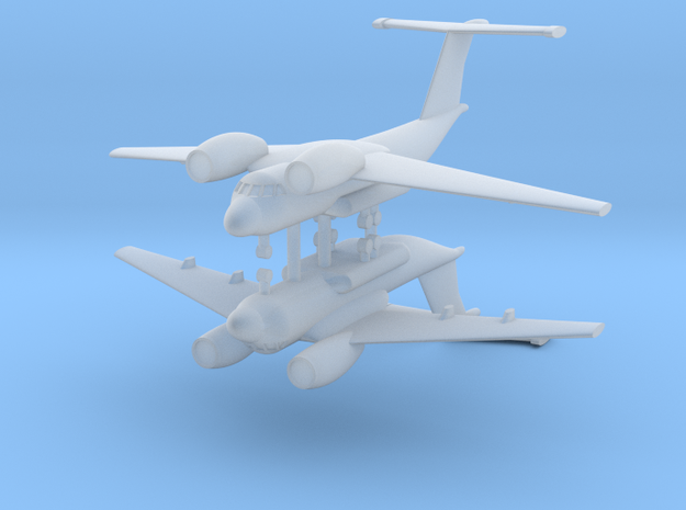 1/700 Antonov AN-72 Coaler (x2) in Smooth Fine Detail Plastic