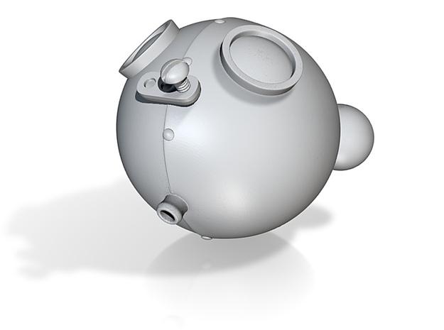 RoboBear Head 3d printed
