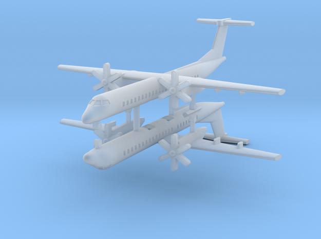 1/700 Bombardier Dash-8 Q400 (x2) in Smooth Fine Detail Plastic