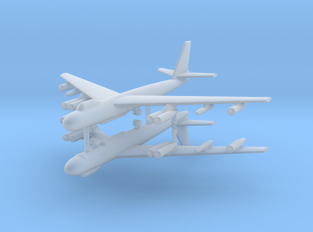 1/700 B-47E Stratojet (x2) in Smooth Fine Detail Plastic
