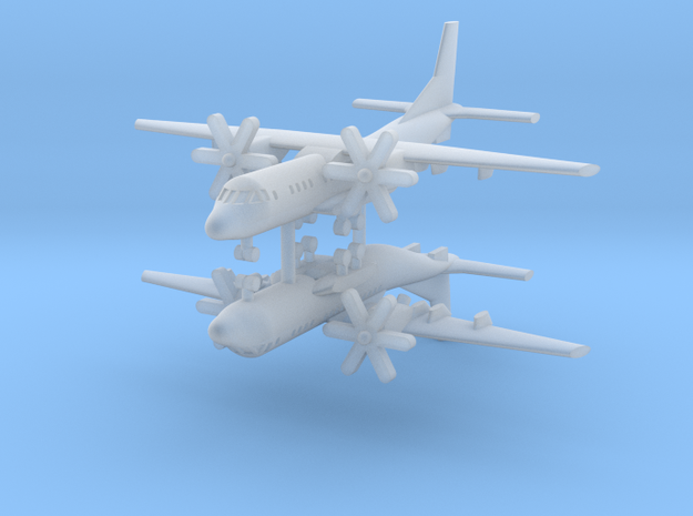 1/700 C-295M (x2) in Smooth Fine Detail Plastic