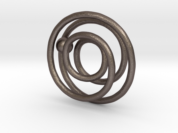 One ring to rule the ball 3d printed