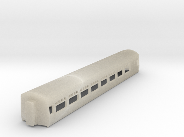 Cravens Built Coach N Scale (WITHOUT Base Plate) 3d printed