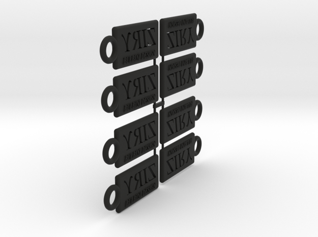 Ziry's keyholder 3d printed