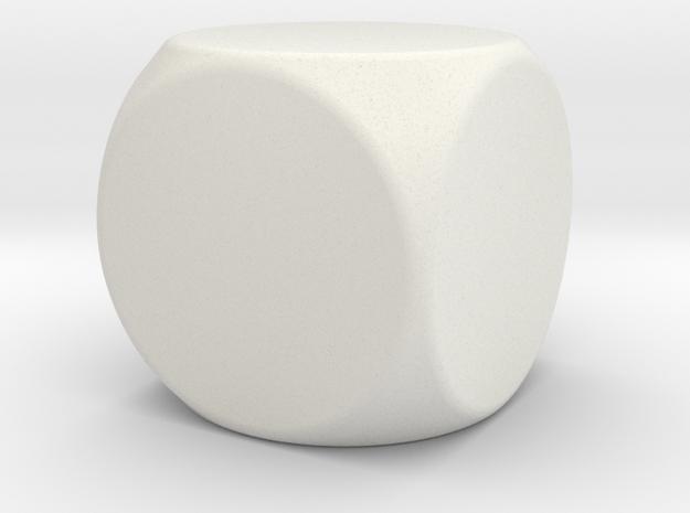 Blank Die in White Natural Versatile Plastic