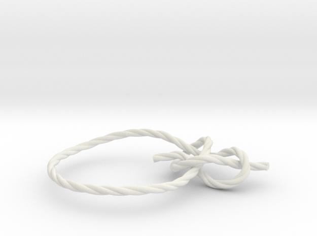 Bowline in White Natural Versatile Plastic