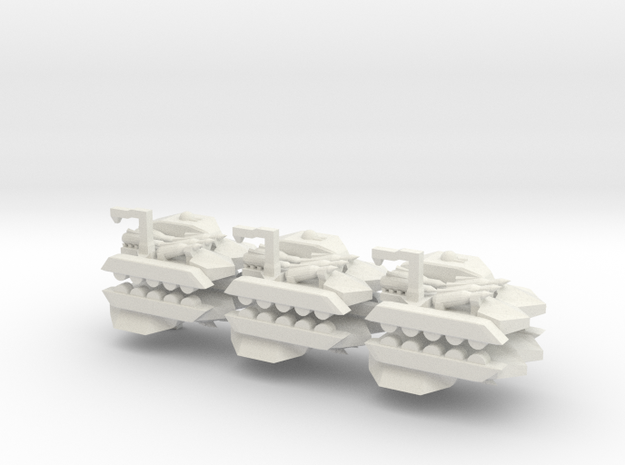 6 Missile Carrier x6 3d printed