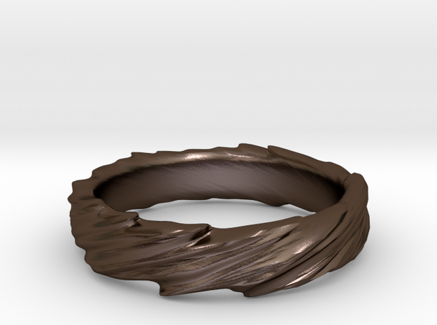 Ring - Organic Twist 3d printed