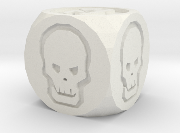 hq replacement die in White Natural Versatile Plastic