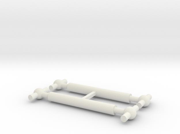 U-Bahn Wien Ersatzkardanwelle für Typ U in White Natural Versatile Plastic